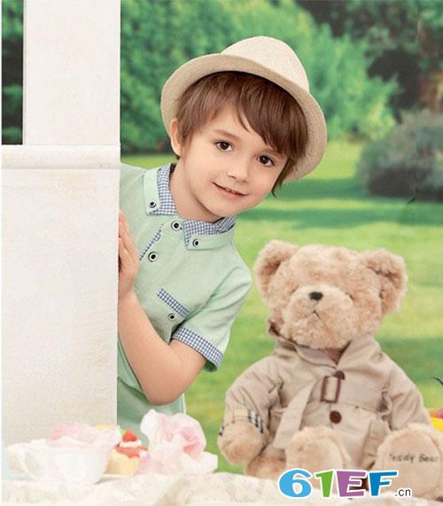亲亲我的宝贝 索黛纳品牌童装2017夏季新品送给你