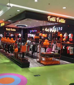 FolliFollie国际品牌进驻江阴市华地店 盛大开业