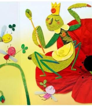 意大利国宝级创意童书洞洞书 就是那么合娃的心意