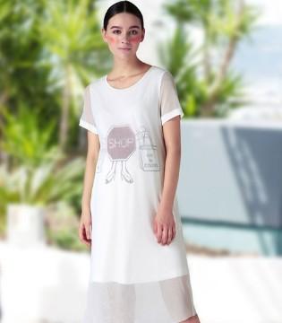 今年夏天流行又实穿的孕之彩连衣裙 风情万种女人味