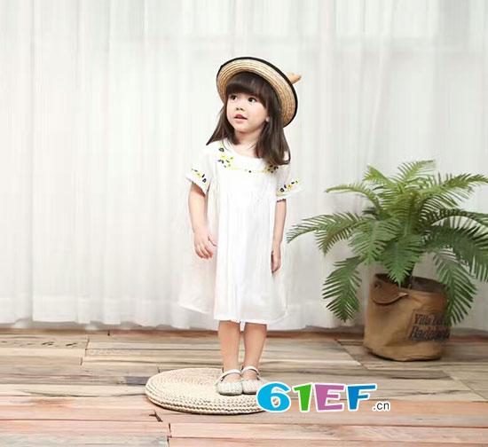 用心为孩子挑选的潮朴品牌童装2017夏季新品就是适合的