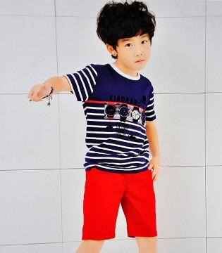 打造帅气型男范就用dishion的纯品牌童装2017夏季新品