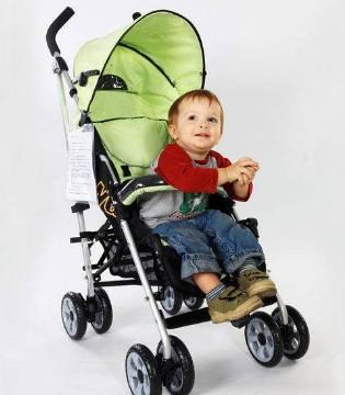 预防宝宝的脊柱变形 选对推车是关键