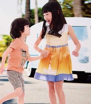 这个七月 有了童领品牌童装2017夏季新品的孩子很开心