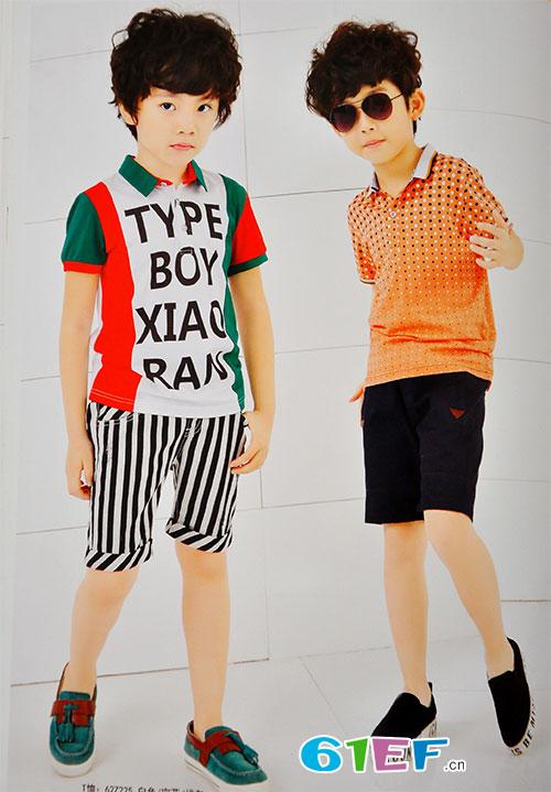 dishion的纯品牌童装2017夏季新品 穿出一样帅气的他们