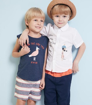 萌娃们都爱穿的WISEMI威斯米品牌童装2017夏季新品到了