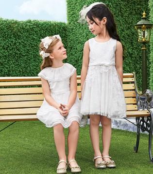 纯洁无暇的小天使就是穿上了小象Q比SEQB品牌童装的她