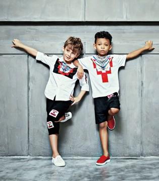 国际潮牌Folli Follie童装用不同的单品搭出一样帅气的你