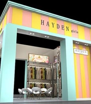上海CBME倒计时 HAYDEN惠衣登品牌童装即将与您相见