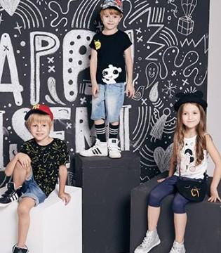 学习穿搭看WISEMI威斯米品牌童装2017夏装LOOKBOOK