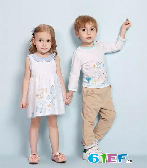 时尚,休闲自由的婴幼童装系列产品.