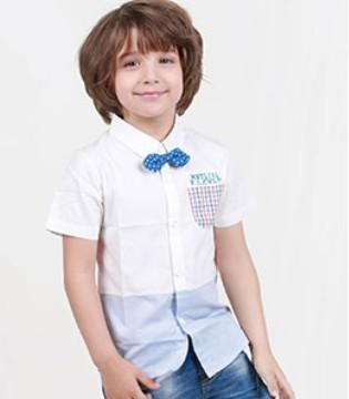 JIMINEID杰米兰帝品牌童装产品手册之夏日型男穿搭