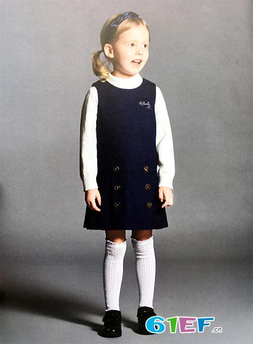 当秋风渐起就可以穿上dishion的纯品牌童装2017秋冬装系列