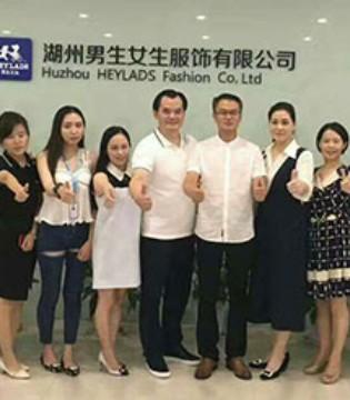 中央电视台CCTV《匠心》栏目专访组走进男生女生品牌公司