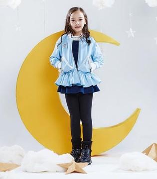SOUHAIT水孩儿品牌童装2017冬装系列之蓝得刚刚好