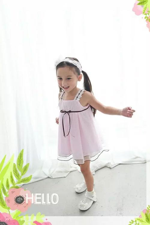 安妮公主童装吊带背心裙 清凉并优雅着