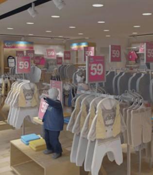 杰米兰帝童装开业惊喜 近期新店齐绽放