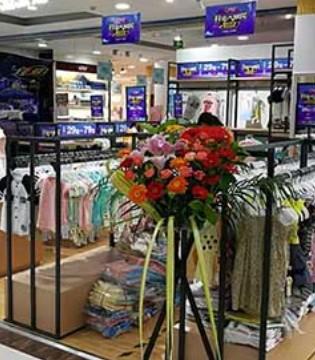 热烈祝贺波波龙童装品牌强势进驻福建龙岩夏商百货