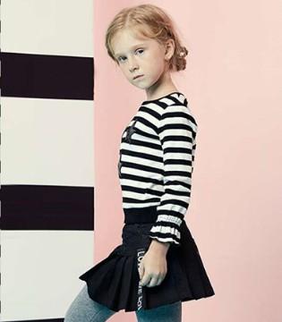 穿上Yuki So品牌童装2017秋季装备畅游出型 玩出潮范