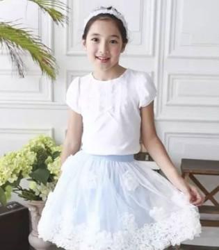 满眼大长腿 安妮公主童装半身裙的视觉Party