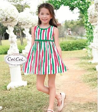 甜美小公举都喜欢穿Ceicei熙熙品牌童装的美腻连衣裙