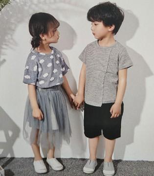 穿上了青稚品牌童装的两小无猜只有好没有坏