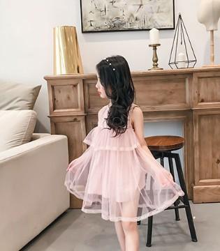 童衣汇品牌童装2017夏装系列之五彩的连衣裙 七彩的童年