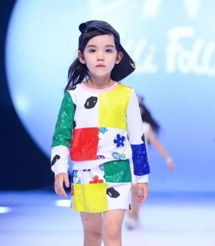 8月13日 FolliFollie中国超级童模大赛首秀