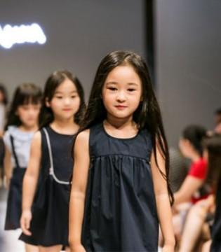 YOYO&NANA童装2018年春夏新品发布会�A�M成功