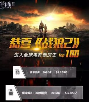 魔豆哩咕揭秘《战狼2》燃爆全国 狂揽47亿的背后