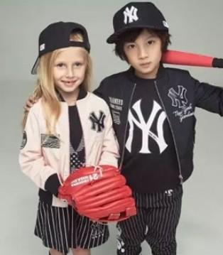 MLBKIDS潮牌童装 外套+棒球衫是我的最爱
