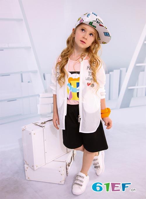 喜欢装扮 喜欢时尚 喜欢创意 更加喜欢黑白熊品牌童装