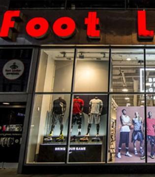 美国最大体育运动用品代理商Foot Locker股价下跌28%