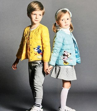 dishion的纯品牌童装2017秋冬新品上市 造型多变魅力不变