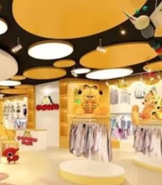 加菲猫主题乐园霸气落户中国 加菲猫童装加盟最佳时机