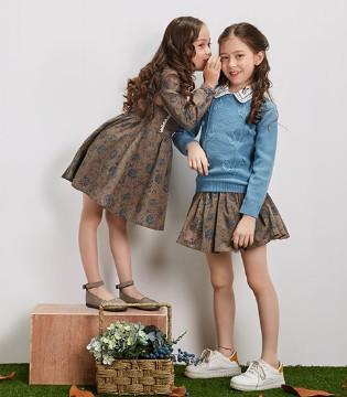 和辛巴娜娜品牌童装2017秋季新品一起走进科兹沃尔德