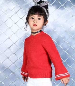 森门童装品牌秋冬新品 针织衫爆款在这里