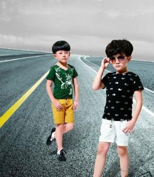 酷小孩品牌童装 享受兄弟两的童年快乐时光