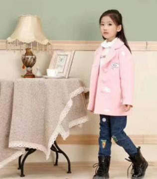班吉鹿品牌童装2017秋季新品 女童外套系列