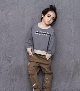 酷炫的人生 只要有时尚个性的诺麦然品牌童装就够了