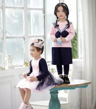 DIZAI棣仔童装品牌2017秋季新品 时尚套装系列