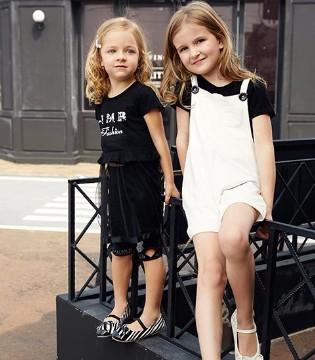 黑白搭配有格调 JMBEAR杰米熊品牌童装有质感