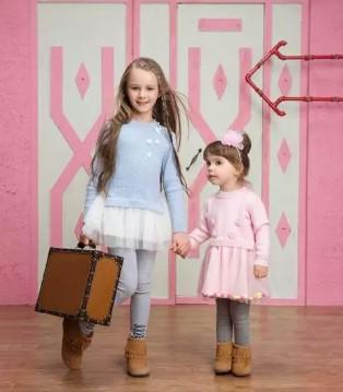 米拉熊品牌童装2017秋季新品 时尚穿搭 衣装未来