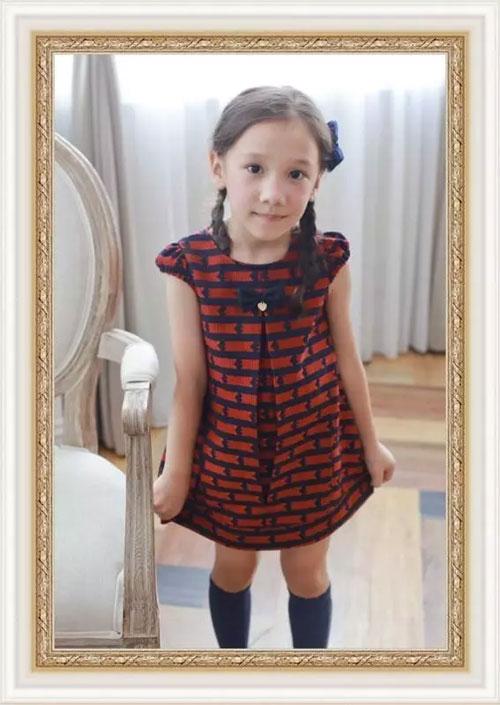 安妮公主童装品牌被爱包围的洋装 你见过吗