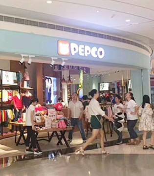深圳沙井京基百纳PEPCO小猪班纳品牌童装专卖店盛大开业