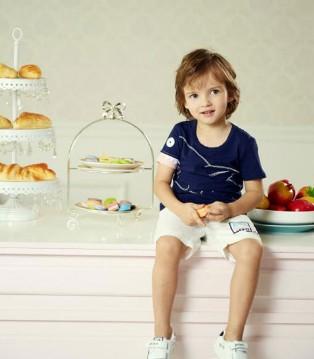 早秋时节 儿童时尚T恤搭配尽在杰米熊童装品牌
