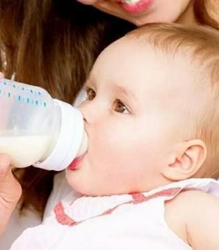 宝宝多大就需要戒奶瓶 当妈的必须要知道