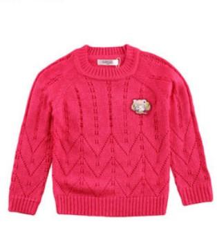 叮当猫童装周二课堂 毛衣穿着扎人怎么办