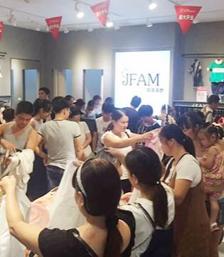加菲A梦品牌童装鹰潭店隆重开业 第一天销售额达三万多
