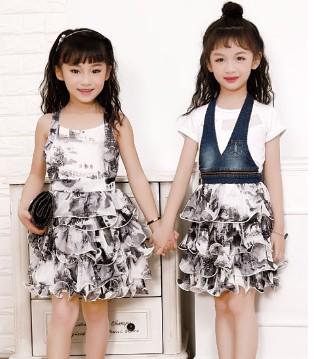 穿上零零柒品牌童装连衣裙 甜美可人气质尽显